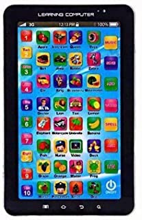 SahiBUY Learning Computer Educational Tablet Toy ( 19cm X12cm X 2.2cm ) Color May Vary