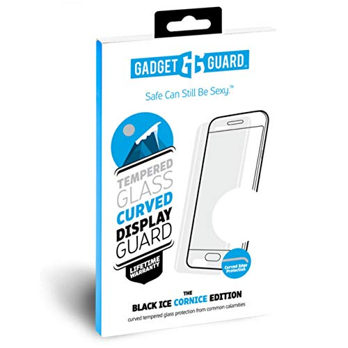 Gadget Guard Black Ice Cornice Tempered Glass Screen Protector for Samsung Galaxy Note 8 - Retail Packaging - Clear