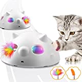Jionchery Interactive Cat Toy for Indoor, Electronic <span class='highlight'>Automatic</span> Cat Toy with 3 Speeds, <span class='highlight'>Automatic</span> Steering, Auto Shut-Off,Smart Standby <span class='highlight'>Robot</span>ic Kitten Toy for Indoor <span class='highlight'>Cats</span>