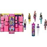 Barbie Color Reveal del Carnaval Al Concierto, Muñeca Que Revela Sus Colores con Agua+ Color Reveal, Muñeca Sorpresa Color Monocromático con Accesorios De Moda Sorpresa (Mattel Gtr94)