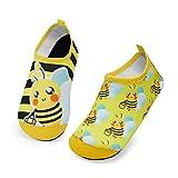 Kyopp Zapatos de Agua para Niños Secado Rápido Chicos Zapatillas Acuáticas Antideslizantes para niños para Piscina de Playa