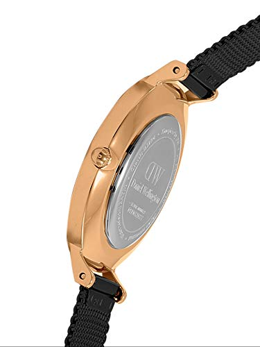 Daniel Wellington Femme Analogique Quartz Montre avec Bracelet en Acier Inoxydable DW00100201