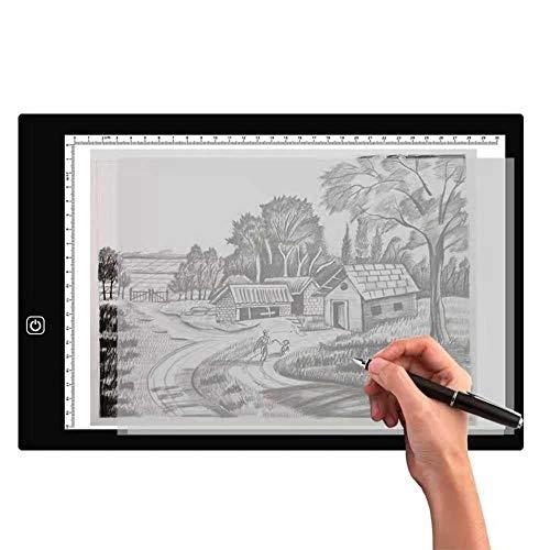 Mesas De Luz Para Calcar A3 A4 A5 Tableta Gráfica Caja De Luz De ...