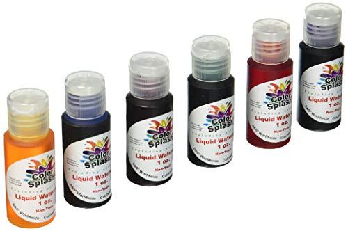 SampS Worldwide PT3253 Liquid Watercolors Grade:1 to 12 Pack of 6