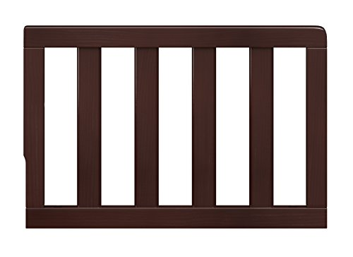 Storkcraft Toddler Guardrail, Espresso Safety Guard Rail for Convertible Crib & Toddler Bed