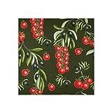 Bufanda cuadrada para mujer con patrón de tomate, bufandas y envolturas para el pelo, pañuelo de moda, 35 x 35 pulgadas