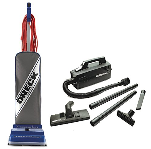 Oreck Commercial XL2100RHS Power Bundle with Oreck Super Deluxe Compact Vac -