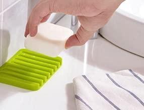 Generic Cute Silicone Soap Dish Bathroom Toilet Plate