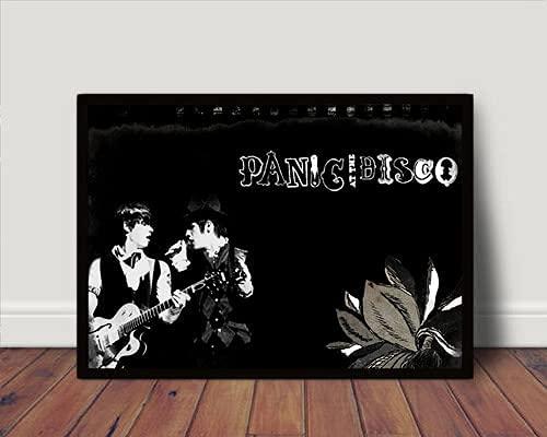 Quadro/Poster C Moldura Panic At The Disco P5402