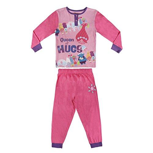 TROLLS Pijama niña Fucsia Dos Piezas (5)