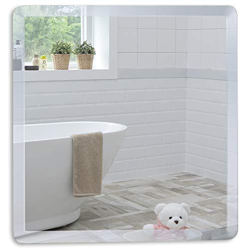 Neue Design Badezimmerspiegel, Badspiegel, abgeschrägte Kante, Wandspiegel, Spiegel, Schöne Qualität Spiegel für Ihr Bad, Schlafzimmer, Halle oder andere Räume in Ihrem Zuhause - 40cm x40cm