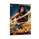 ASDUN Wonder Woman Poster, dekoratives Gemälde, Leinwand,