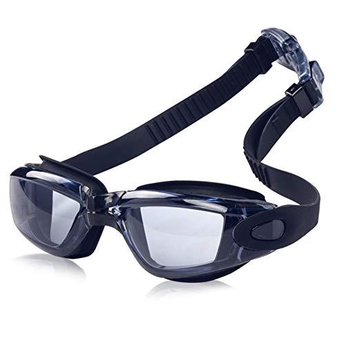 LAIABOR Gafas de natación máscara de Snorkel HD Impermeable Anti-Niebla Gafas Modelos de explosiones de Amazon galvanoplastia Coloridas Gafas de natación
