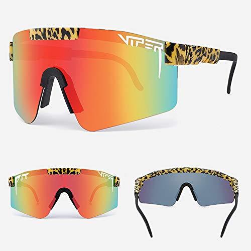 Gafas Sol Polarizadas Ciclismo Hombre Mujer UV400 Y Montura De TR-90, Gafas Sol Deportivas para Running MTB Bicicleta,18