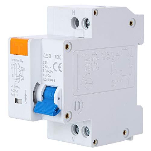 Interruttore differenziale corrente IP20 per illuminazione di edifici(25A)
