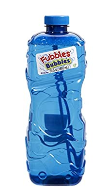 Little Kids Fubbles Premium Long Lasting Bubble Solution, Assorted Colors, 64 oz from Little Kids