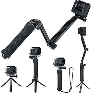 FiTSTILL 防水3ウェイ三脚 Hero 7/6/5/4/3 Session その他のアクションカメラ, ハンドグリップスタンド付き