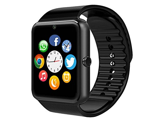 Smart Watch, 11LOVE Sweatproof Touch-screen Bluetooth Smartwatch Fitness dell' orologio Phone per Samsung S5 S6 note 4 5 HTC Sony LG e iPhone 5 5S 6 6 Plus smartphone