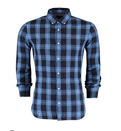 NZA Herren Hemd Blau M