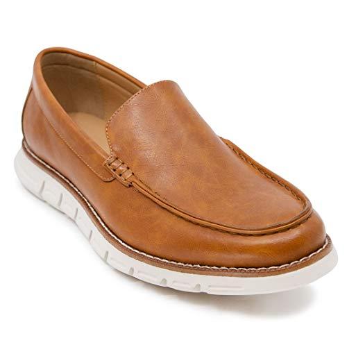 Nautica Men's Slip-On Dress Shoe Loafers Fashion Sneaker-Horace-Tan-10