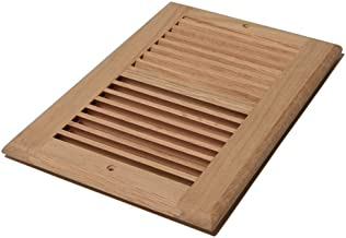 Decor Grates WL610R-U 6-Inch by 10-Inch Wood Return Air, Unfinished Oak