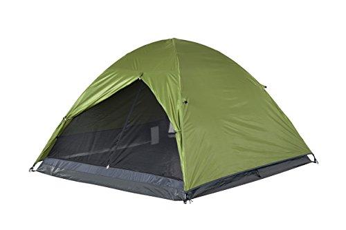 FLINDERS 3P KUPPELZELT DTM3P-C Gemütlich für 3 Erwachsene. Zeltbodenfläche: 205 x 205 cm Zeltkopfhöhe: 125cm 3kg. Silberbeschichtetes UVTex® 2000 Sonnenabweisendes Überzelt