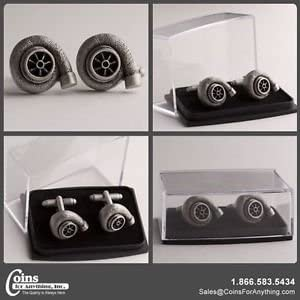 Coins For Anything Turbo Inc Chicago Mall famous Cufflinks