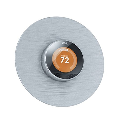 Round 6' Wall Plate for Nest Thermostat By Greenfii