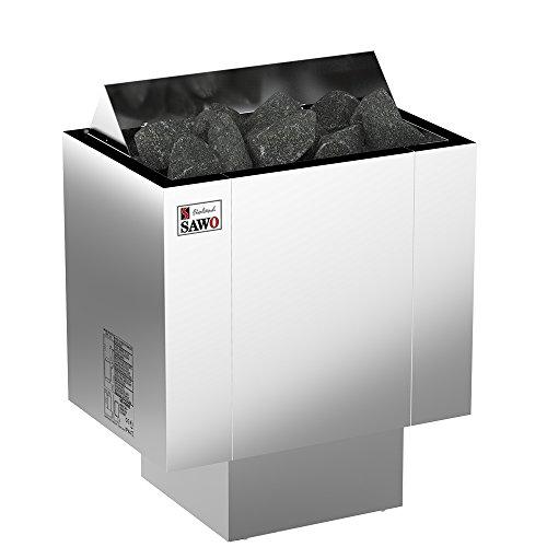 SAWO NORDEX 2017 Elektrische Saunaofen, Leistungsbereich: 4,5 kW; 6,0 kW; 8,0 kW; 9,0 kW; wird separates Steuergerät benötig (NS-Modell); Multispannung: entweder Einphasig oder 3-Phasig;