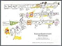 ポスター ラグナル キアルタンソン The Visitors February 1 ? March 6 2013年 額装品 アルミ製ベーシックフレーム(ブラック)