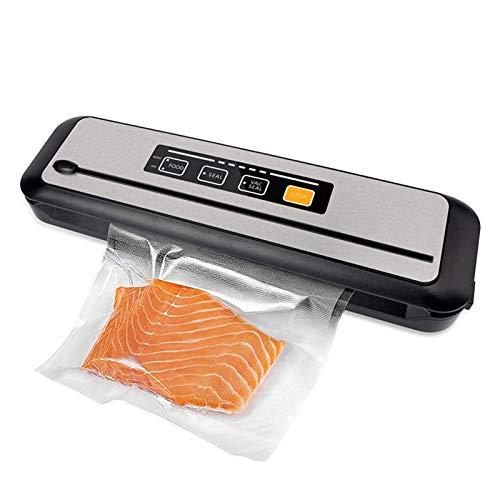 Bidet Vakuumiergerät Vollautomatisch Vakuumversiegelung, Haushaltsmittel-Vakuum-Sealer-Verpackungsmaschine Sous-Vide-Taschen Vakuumverpackung Packer Vakuumbeutel für Lebensmittelspeicher