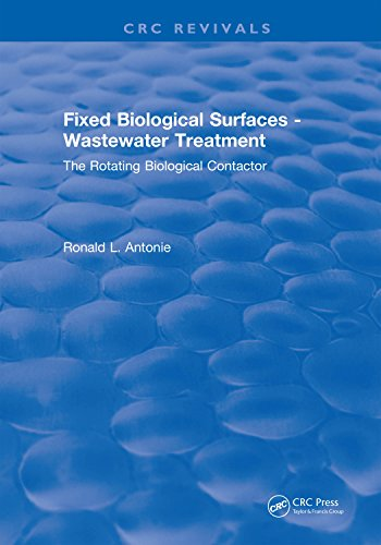 Fixed Biological Surfaces - Wastewater Treatment: The Rotating Biological Contactor (English Edition)