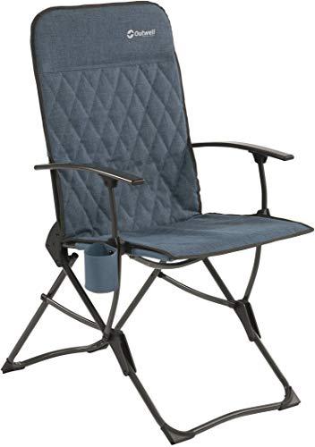 Outwell Draycote blau Camping Stuhl max. Belastbarkeit 120kg 2020