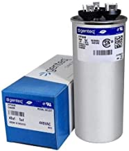 GE Genteq Capacitor round 40/5 uf MFD 440 volt 97F9838 (replaces old GE# Z97F9848BZ2), 40 + 5 MFD at 440 volts