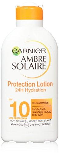 Ambre Solaire Light And Silky Sun Tan Milk SPF10 - 200ml