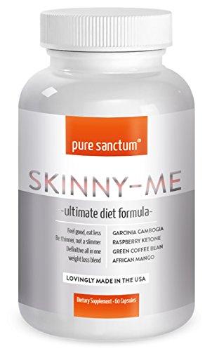 Weight Loss Pills - Garcinia, Raspberry Ketones, Green Coffee, Green Tea, African Mango, Glucomannan - Clinically Proven Diet Blend