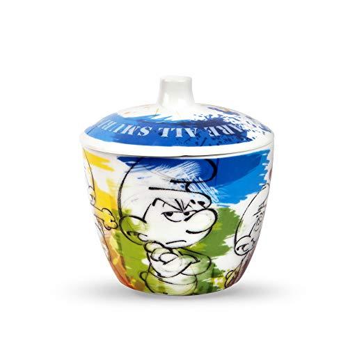 Egan PPU41/X Zuccheriera, Modello Puffi, Porcellana, Multicolore