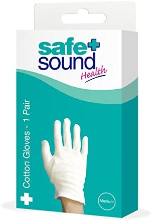 Safe and Sound Small Cotton Gloves