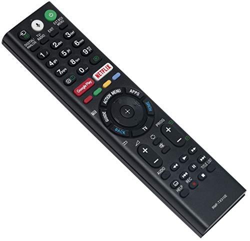 ALLIMITY RMF-TX310E Mando a Distancia reemplazado por Sony Bravia LED LCD TV KD-43XF8096 KD-43XF7596 KD-43XE8396 KD-43XE8099 KD-43XE8096 KD-43XE8088 KD-43XE8077 KD-43XE8005 KD-43XE8004