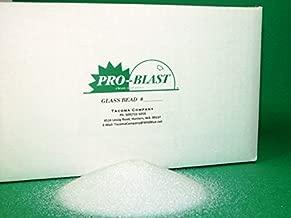 GLASS BEAD #7 - Medium Fine - 25 lbs. - Sand Blast Cabinet BLASTING MEDIA - By Tacoma Company