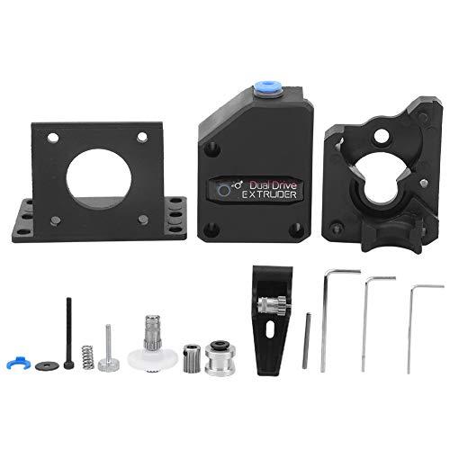 Kit de Extrusora de Impresora 3D Extrusora de Doble Unidad DIY Kit de Impresora 3D para Creality 3D CR10, Serie Ender Wanhao D9, Anet E10, Et4, Impresora Geeetech