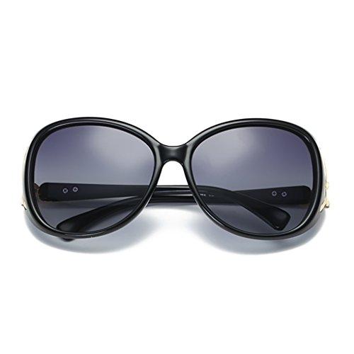 YGyanjing Zonnebril met hete mode, vrouwelijke getijden, anti-uv-polariserende zonnebril, fox-kop, 142 mm