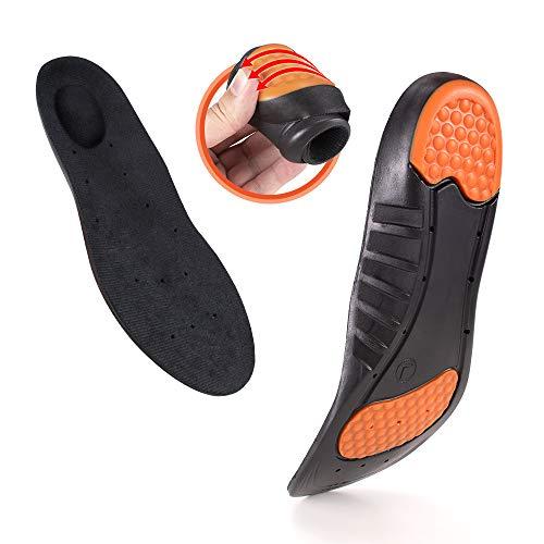 Shoe Insoles Women Men Relieve Plantar Fasciitis Heel Spurs & Foot Pain Sports Shock Absorption Shoe Inserts Memory Foam Breathable Shoe Insoles