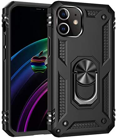 iPhone 12 Case Military Grade Drop Tested Protective Case Kickstand Wireless Charging Compatible product image