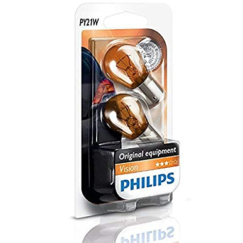 Carpoint Phillips Vision, PY21W, Naranja, 14.00x9.50x14.00