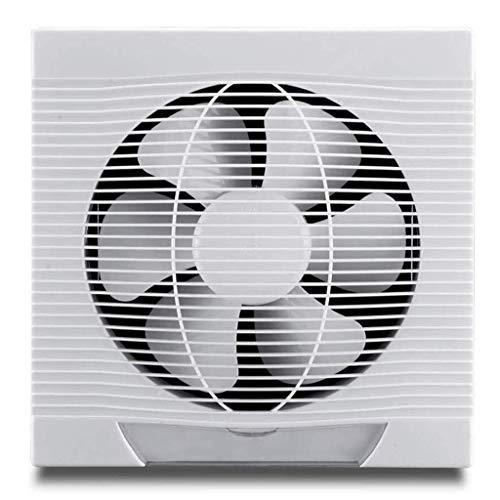Ventilador extractor de cocina de 8 pulgadas para pared, ventana, ventilador de cocina, ventilador para baño, cocina, salón, dormitorio, etc.