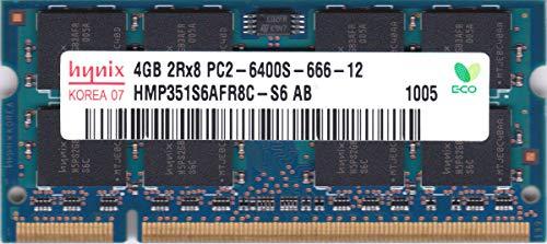 Hynix 4GB DDR2 Memory SO-DIMM 200 pin PC2-6400S 800MHz HMP351S6AFR8C-S6