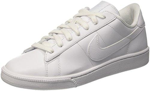 Nike Womens Tennis Classic Round Toe Fashion Sneakers White 9 Medium (B,M)