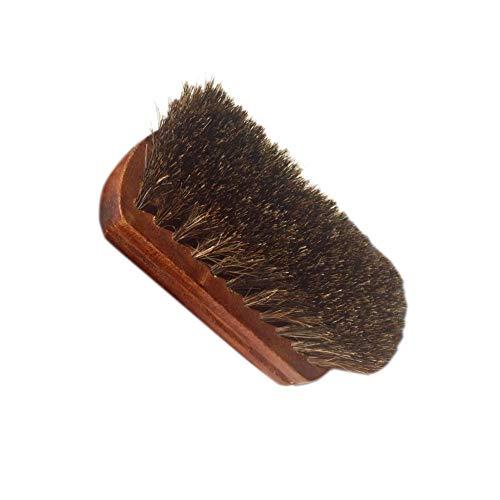 JFCDB Cepillo de Zapatos, Cepillo marrón para automóvil, Cepillos de Madera Absorción Suave y Fuerte del Agua y Buen Efecto de Limpieza Mango Cepillo de Asiento para Botas sofás Cepillo de Limpieza