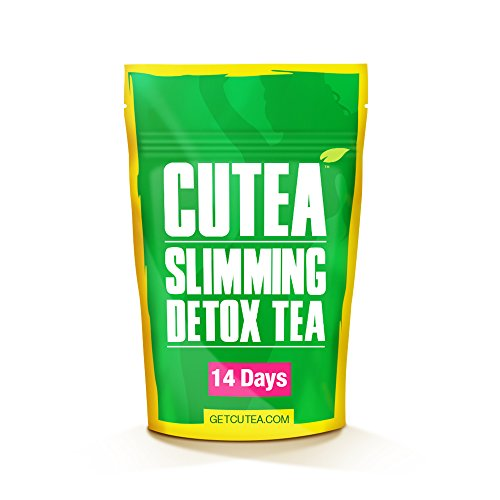 Skinny Fit Detox Tea for Weight Loss and Belly Fat - Herbal Tea for Bloating Relief, Metabolism Booster, Appetite Suppressant and Flat Stomach - 14 Day Teatox
